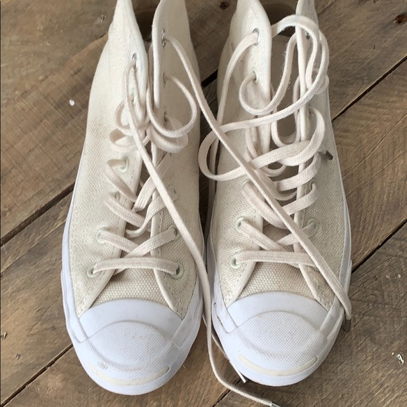 Converse Shoes | Cream Jack Purcell
